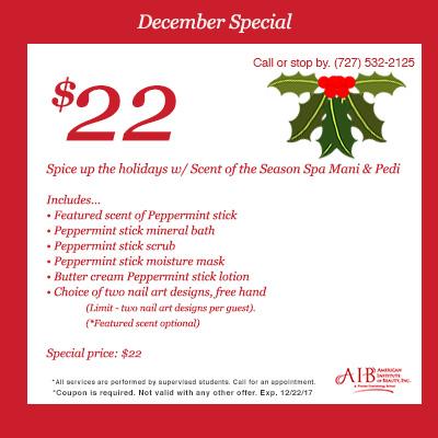 December Salon Special