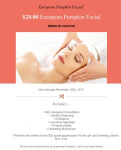 European Pumpkin Facial