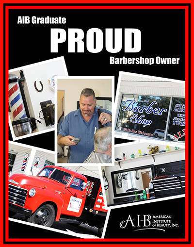Proud Barbershop Owner