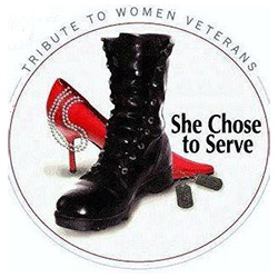 Tribute To Women Veterans She Chose To Serve
