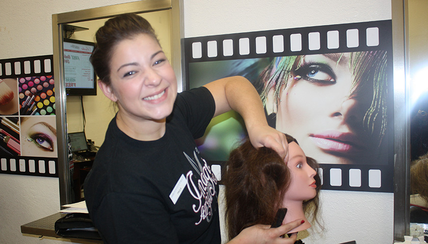 American Institute of Beauty Cosmetology Student