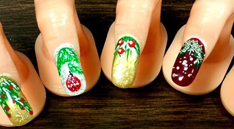 Holiday Nail Art 2016