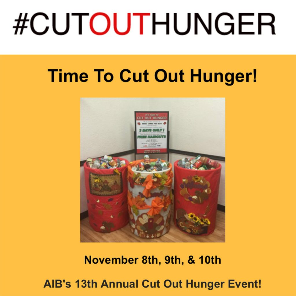 Cut Out Hunger 2017